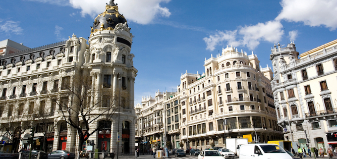 City Centre of Madrid
